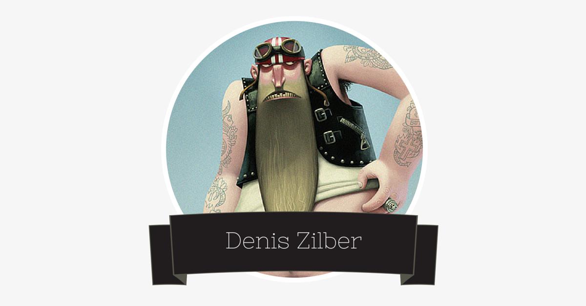 Geniuses we love – Denis Zilber – Illustrator