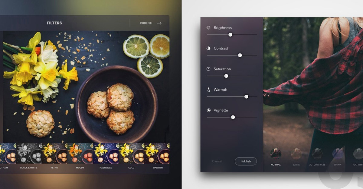 Photo Editor Design Inspiration